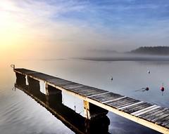 #sweden#sunset#karlskrona# (Natasha0808) Tags: fog sky sea sweden sunset karlskrona
