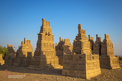 STONE CARVED GRAVES (S.M.Rafiq) Tags: stonecarved graves taungtombs taung tombs than bula khan graveyards smrafiq sindh pakista asia