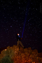 Iluminando el Cielo (por poper`s) Tags: noche chile iquique pampa salitrera luz estrellas