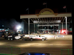 Two The Maxx Truck Pulls. (dccradio) Tags: malone ny newyork franklincounty franklincountyfair communityevent fun entertainment event annual fair festival countyfair night lights atpa adirondacktractorpullers truckpull stage truck pullingtruck pickup