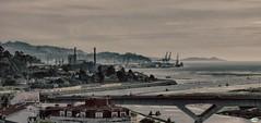Industria en la ra (juantiagues) Tags: ra pontevedra marn puerto ence juantiagues juanmejuto puente