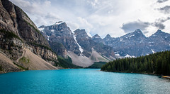 Moraine Lake (Michael Torii) Tags: morainelake cans2s canada banff lake blue banffnationalpark bnp valleyofthetenpeaks mountain