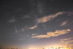 Perseid Meteor Shower 2016 (Scubastevephotos1) Tags: nightsky clouds milkyway longexposure night wish makeawish shootingstar meteor stars astro