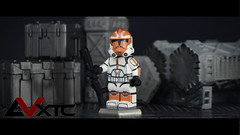 "332nd ""Ahsoka Loyalist"" Clone (AndrewVxtc) Tags: lego star wars custom clone trooper 332nd ahsoka loyalist decals andrewvxtc"