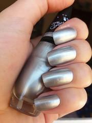 Silver - Impala (lissa_is) Tags: esmalte nail nailpolish impala prata