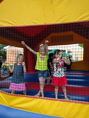 2016-06-11 18.53.01 (whiteknuckled) Tags: lily 4th fourth birthday party strawberry festival st pauls friends bounce bouncey house castle
