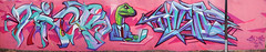Tick    Tacos (HBA_JIJO) Tags: streetart urban vitry vitrysurseine art france artist wall mur color painting letters peinture lettrage lettres lettring paris94 spray panorama tacos graffiti