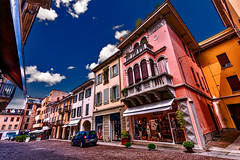 Walk with me (Marco Trov) Tags: marcotrov hdr canoneos5d vigevano pavia italia italy city citt strade street case house palazzi building