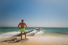 Mirando a frica desde Punta Paloma. Tarifa (Rafa Velazquez) Tags: longexposure tarifa cadiz spain beach waves silkwaves