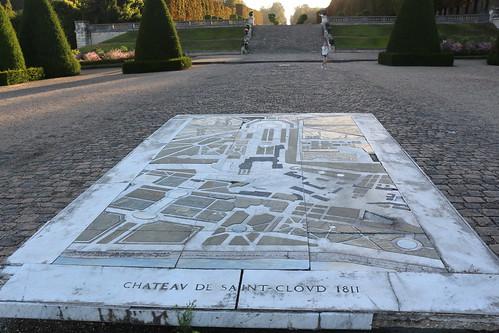 Le plan du château