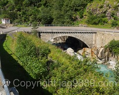 REU265 Gotthardstrasse Bridge over the Reuss River, Gschenen, Uri, Switzerland (jag9889) Tags: 2016 20160811 6487 alpine archbridge bridge bridges brcke ch cantonofuri centralswitzerland crossing europe flickr gesschenden goeschenen goschenen gschenen helvetia infrastructure innerschweiz kantonuri outdoor pont ponte puente reuss river roadbridge schweiz schllenen suisse suiza suizra svizzera swiss switzerland uri zentralschweiz jag9889