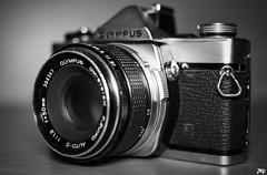 Olympus OM-1 (JWPhotowerks) Tags: camera photography olympus om1 black white 50mm 18