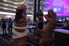 IMG_9196 (wesuah) Tags: dragon con dragoncon 2016 tyrannosaur costume kylo rex tyrannosaurs rey
