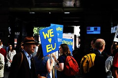 20160903-London_0061 (Declan Foster) Tags: london greaterlondon city portrait color colourphotography people person street streetphotography dslr canoneos700d eos700d canon unitedkingdom uk england centrallondon streetmarch protests 2016 photos londoncity digitalphotography remain marchforeurope