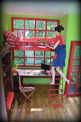 Diorama (pe.kalina) Tags: dolls dollhouse miniature furniture blythe barbie poppy parker fr momoko