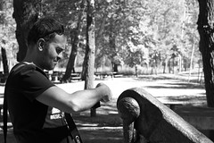 arandinos/the photographer (pepe amestoy) Tags: blackandwhite streetphotography people portrait lavid aranda burgos spain fujifilm xe1 carl zeiss t planar 250 zm