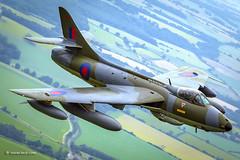 Hunter...Hawker Hunter! (xnir) Tags: hunter hawker flight aviation aircraft air2air heritage warbird nir nirbenyosef xnir