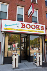 Unnameable Books (gsz) Tags: nyc newyorkcity brooklyn bookstore unnameablebooks