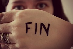 The End (zoej1983) Tags: selfportrait writing eyes hand secret rings fin phew thechallengeisover