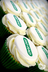 Bio-Rad Corporate cupcakes (Baked. Cupcakery) Tags: tower newcastle logo cupcakes durham branded north east business event baked biorad sunderland corportae cucpakery
