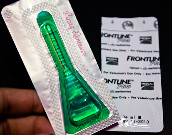 Frontline Plus vial for medium breed dogs