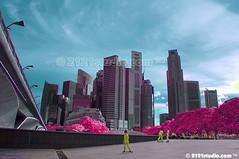 Jalan-jalan di Kota Singa (Infrared) (2121studio) Tags: nature cosmopolitan nikon singapore asia cityscapes ali malaysia indah metropolitan kuantan singapura alam marinabay malaysianphotographer drali travelphotographer 2121studio kuantanphotographer pahangphotographer ciptaanallahswt 0139342121 nubleebinshamsubahar psygangnamstyle