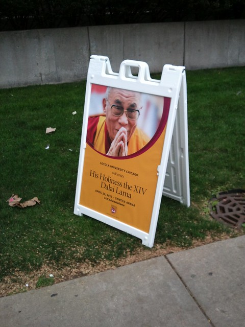 Hearing the Dalai Lama