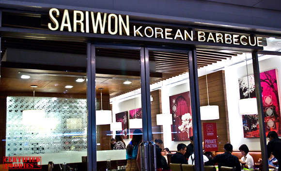 Sariwon Korean Barbecue at Bonifacio High Street Central