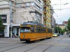 Trams and Trolleybuses of Sophia (DaveAFlett) Tags: bulgaria streetcar trams sophia strassenbahn