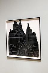 Brooklyn - Brooklyn Museum: Keith Haring: 19781982 - Untitled Subway Drawing (wallyg) Tags: nyc newyorkcity ny newyork art brooklyn popart gothamist artmuseum keithharing untitled brooklynmuseumofart brooklynmuseum kingscounty subwaydrawing wwwbrooklynmuseumorg keithharing19781982