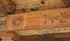 Norsk Disclaimer (The VIKINGS are Coming!) Tags: stone log logcabin woodenhouse highsierras woodcarving vikingsholm zakopane hutte portola mountainhouse nordicstyle grizzlyranch zakopaneinthesierras zakopanestyle