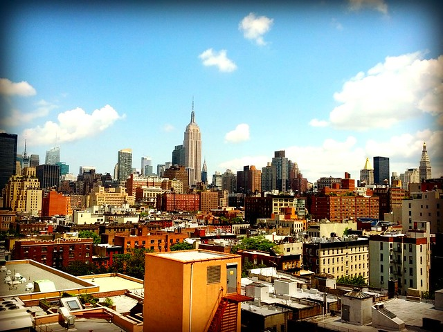 Google NY Lunch View