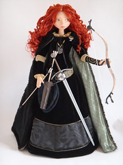 LE Merida 18'' Doll - Deboxed - Full Front View (drj1828) Tags: store inch doll disney merida 18 limited edition deboxed