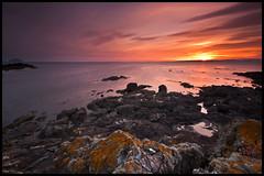 Ailsa Craig and Arran (D90_DRK) Tags: sunset summer seascape scotland nikon westcoast arran ayrshire turnberry ailsacraig sigma1020mm d90