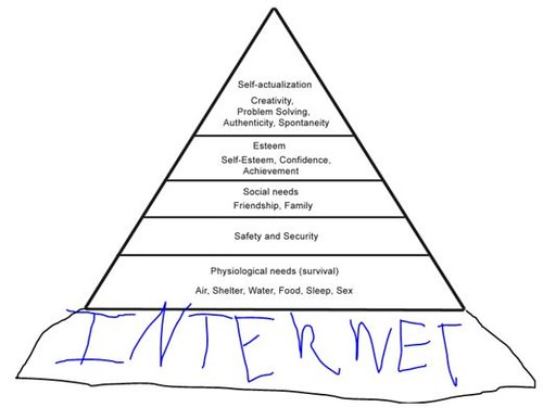 Maslow's Hierarchy of Needs has been upd by topgold, on Flickr