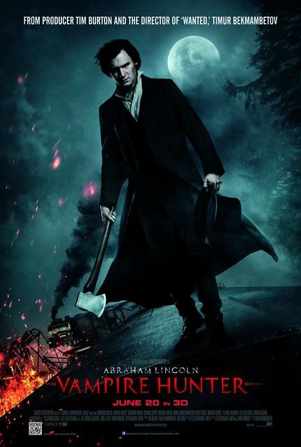 【福斯鉅獻】跟隨吸血鬼獵人林肯總統,就有機會得到幕後密辛手稿!
