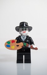 """Lets make some art"" (felt_tip_felon) Tags: toy model comic lego batman joker graphicnovel 1989 minifig timburton jacknicholson jacknapier"
