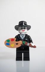 """Lets make some art"" (felt_tip_felon) Tags: toy model comic lego batman joker graphicnovel 1989 minifig timburton jacknicholson jacknapier"