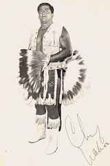 CHIEF WAHOO MCDANIEL (Red Oak Kid) Tags: studio bill dallas big wrestling chief mercer wahoo mcdaniel sportatorium