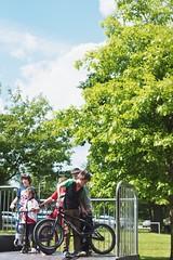 26/52 - Play (Nanagyei) Tags: park tree bicycle kids fun bmx freestyle play candid sony helmet scooter scoot hemel moves stunts hemelhempstead a700 gadebridge gadebridgepark 2652 paintthemoon