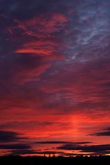 Sunset (Ed Swift) Tags: sunset clouds canon landscape scotland 2012 50mmf18 bonnybridge 40d