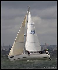 Round the Island Race 2012 (leightonian) Tags: uk island boat sailing unitedkingdom yacht isleofwight solent gb isle cowes wight iow roundtheislandrace rtir bluesail