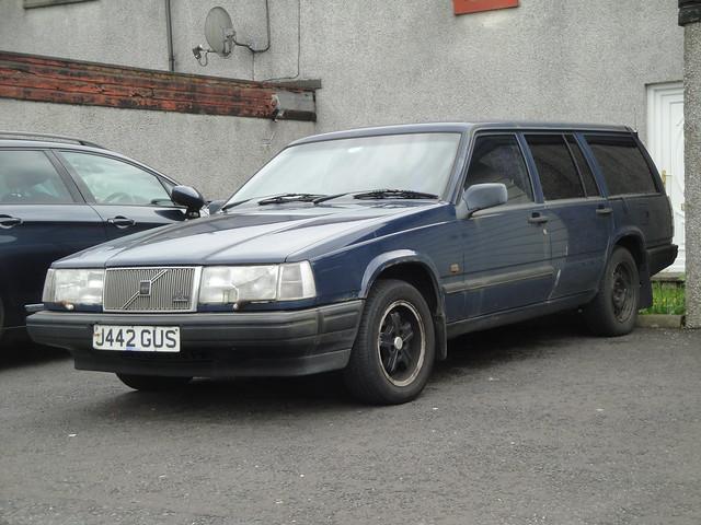 volvo estate 1991 1990s gl 940 j442gus