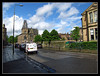 Seeing The Light (K-Burn) Tags: road street house trafficlights streetlight edinburgh vans exchurch lightshop