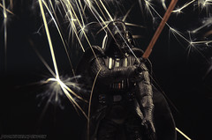The Dark Side (prometheanpenguin) Tags: dark toy photography starwars force side lightsaber darthvader