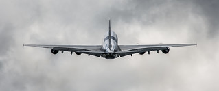 Malaysia Airlines A380 Display - Farnborough 2012