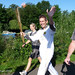July 11th, 2012 Ian Harding carries the Olympic torch through Caversham