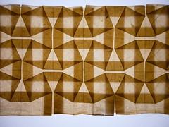 bio-paper square weave (EricGjerde) Tags: paper paperart origami handmade bio bacteria tessellations biological papermaking origamitessellations ericgjerde biopaper