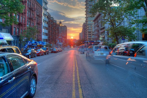 Manhattanhenge, Jul 2012 - 03 by Ed Yourdon, on Flickr