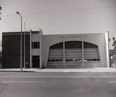 New Fire Station 26 1970